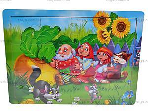 Деревянные пазлы «Персонажи мультиков», E02943, купить