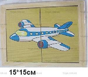 Деревянные пазлы «Транспорт», 1135-TRSP