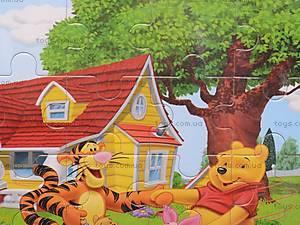 Деревянные пазлы «Винни Пух», 1809A19, игрушки