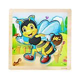"""Деревянные пазлы-вкладыши """"Пчелка"""", C39029, купить"""