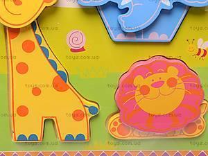 Деревянные вкладыши «Цветные фигурки», 56425643, фото