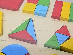 Деревянные вкладыши «Геометрия», W02-43(W09-28, отзывы