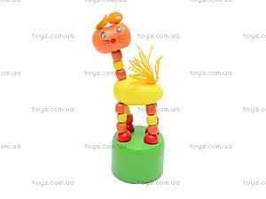 Деревянные зверьки-марионетки, W02-3063, игрушки