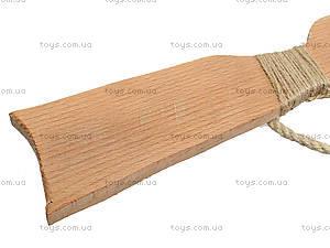 Деревянный автомат 75 см, буковый, 171860у, фото