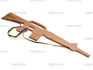 Игрушечный деревянный автомат М-16, 171924, купить
