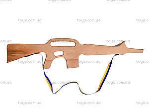 Игрушечный деревянный автомат М-16, 171924, цена