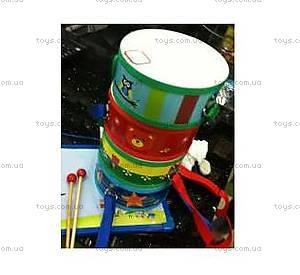 Деревянный барабан с палочками, 2012-170