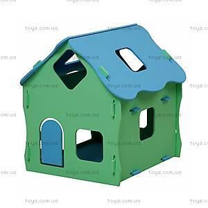 Деревянный домик для кукол, разборной, Д076