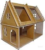 Деревянный домик для игрушек, Д 1у