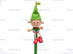 Деревянный карандаш с фигуркой, 2011-67, купить
