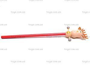 Деревянный карандаш с фигуркой, 2011-67