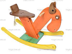 Деревянный конь-качалка, К011, купить