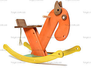 Деревянный конь-качалка, К011