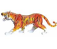 Деревянный конструктор цветной «Тигр», М003с, купить
