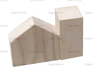 Деревянный конструктор для детей «Городок», 8050-01, купить
