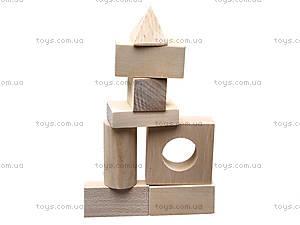 Деревянный конструктор для детей «Городок», 8050-01, фото