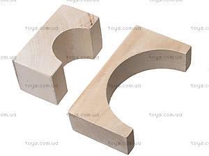 Деревянный конструктор для детей «Городок», 8050-01, цена