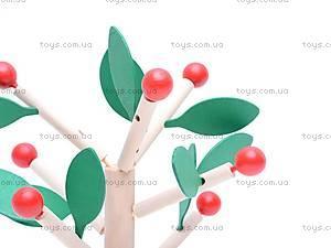 Деревянный конструктор «Фруктовое дерево», W02-1407, фото