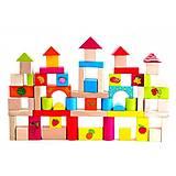 Деревянный конструктор «Фрукты», 60 деталей, Д368у, магазин игрушек