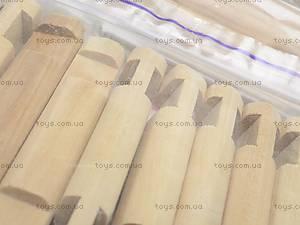 Деревянный конструктор «Коттедж», 6227, фото