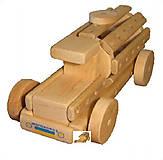 Деревянный конструктор «Молоковоз», 172009, игрушки