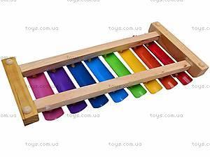 Деревянный ксилофон для детей, 2594-35, фото