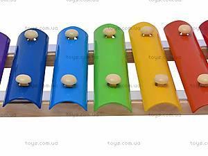 Деревянный ксилофон для детей, 2594-35, цена