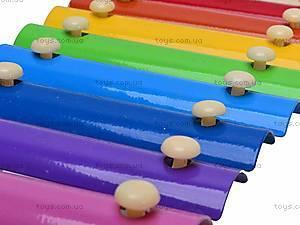 Деревянный ксилофон для детей, 2594-35, детские игрушки