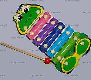 Деревянный ксилофон «Жабка», 2012-54