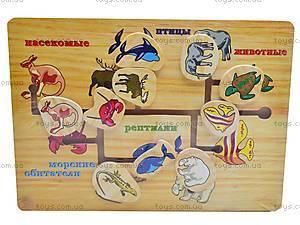 Деревянный лабиринт «Животные», W02-2048