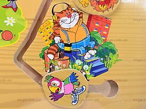 Деревянный лабиринт «Мультфильмы», B07146, купить