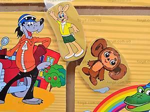 Деревянный лабиринт «Мультфильмы», B07146, фото