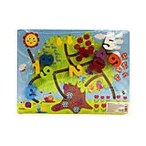 Деревянный лабиринт «Цифры», C35966, купить