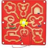 Деревянный магнитный лабиринт «Фигуры» детский, Д278у, отзывы