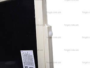 Деревянный мольберт с азбукой и счетами, 5320, фото