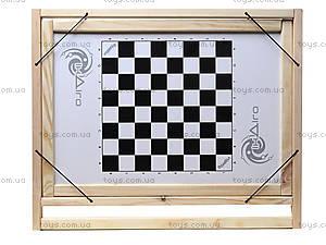 Деревянный настольный мольберт с шашками, МНС40332, отзывы