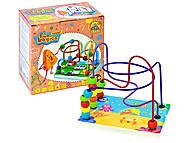 Пальчиковый лабиринт FUN GAME, деревянный , 7378, детские игрушки