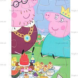 Деревянный пазл «Королевская семья Пеппы», 25123, купить