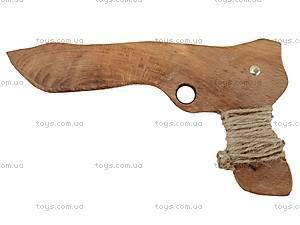 Деревянный пистолет для детей, 171857, отзывы