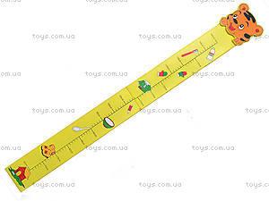 Деревянный ростомер «Зверюшка», 2700-139