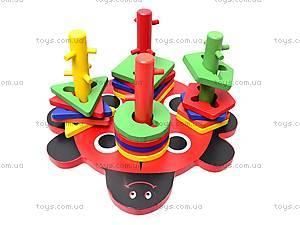 Деревянный сортер «Божья коровка», 2011-91, игрушки