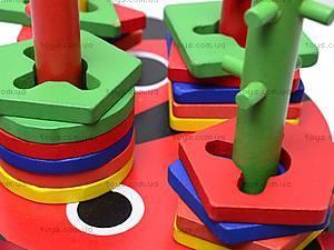 Деревянный сортер «Божья коровка», 2011-91, детские игрушки