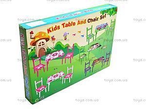 Деревянный столик со стульчиками «Ниндзя», M0709, фото