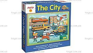 Деревянный игровой набор Ludattica The City, 49905