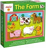 Деревянный игровой набор Ludattica The Farm, 49899
