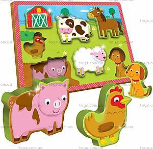 Деревянный игровой набор Ludattica The Farm, 49899, купить