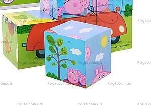 Деревянный игровой набор «Кубики Пеппы», 24441, фото