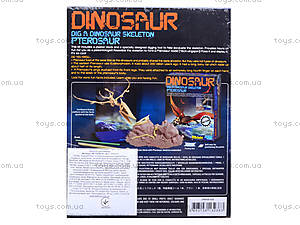 Детский набор «Скелет Птерозавр. Раскопки», 13238, купить