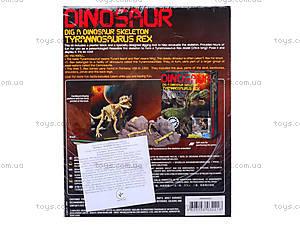 Детский набор «Скелет Тринозавр Рекс», 03221, купить