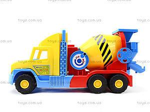 Детская бетономешалка «Super Truck», 36590, отзывы